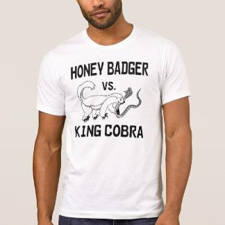Honey Badger vs. King Cobra T-Shirt