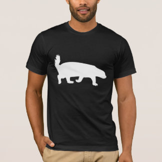 Honey Badger White T-Shirt