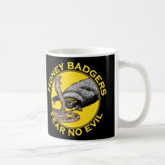 Honey Badgers 'fear no evil' Coffee Mug