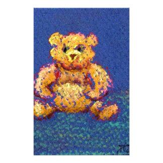 Honey Bear Teddy Bear CricketDiane Cute Bears Personalized Stationery