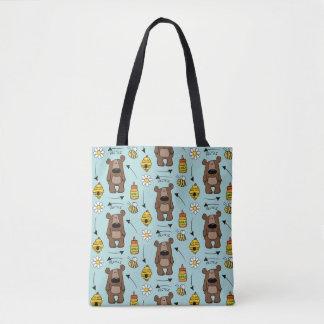 Honey Bear- The Recycler Tote Bag