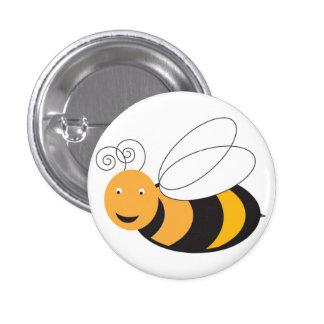 Honey Bee 3 Cm Round Badge