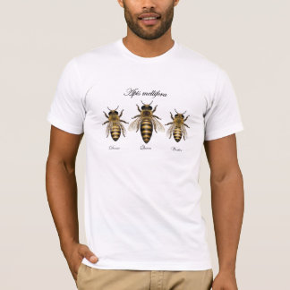 Honey bee Apis mellifera T-Shirt