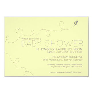 Honey Bee Baby Shower Invitation