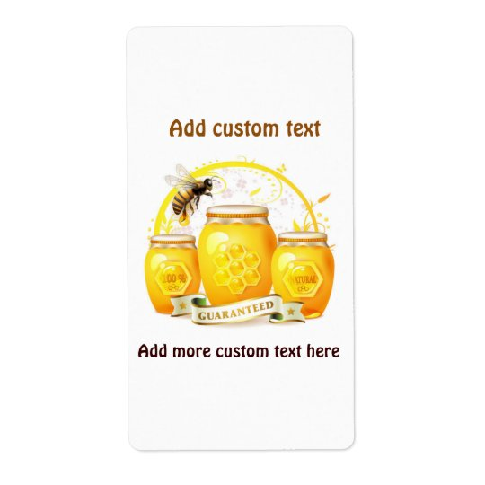 Honey Bee Beekeeper Apairist Custom Shipping Label