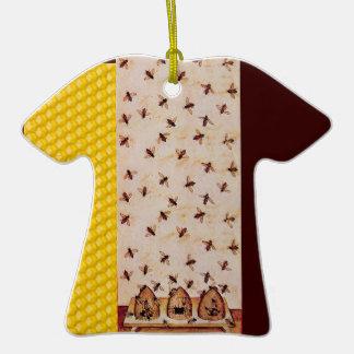 HONEY BEE, BEEKEPER ORNAMENTS