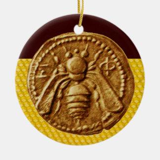 HONEY BEE, BEEKEPER ORNAMENT