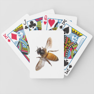 Honey Bee Bicycle Playing Cards