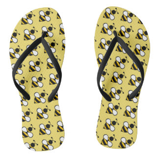 Honey Bee Cruise Summer Flip Flops Sandals Gift