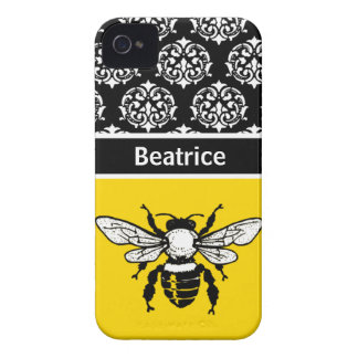 Honey Bee Custom iPhone 4 Case