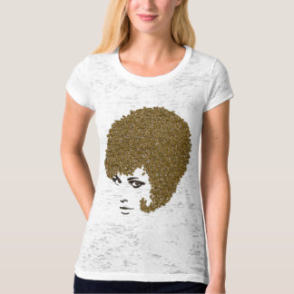 Honey Bee Hive Hair-do T Shirt
