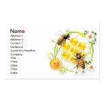 Honey Bee Honeycomb Floral