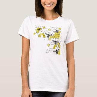Honey Bee Honeycomb Shirt