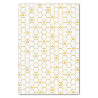 Honey Bee Honeycomb Tissue Paper