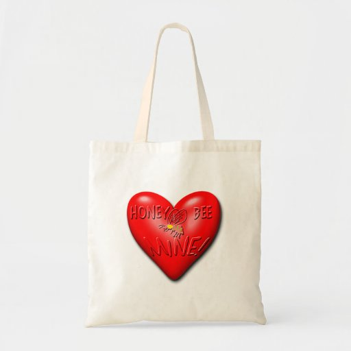 Honey Bee Mine Valentine Bag
