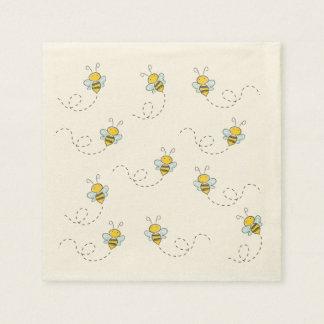 Honey Bee Paper Napkins