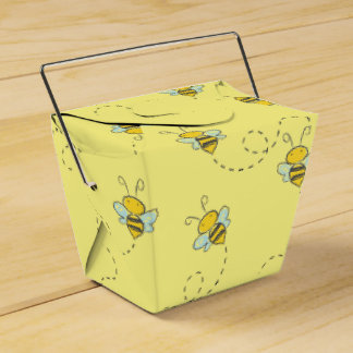 Honey Bee Party Favour Boxes