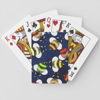 Honey Bee Pattern Playing Cards
