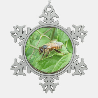 Honey Bee ~ Pewter ornament