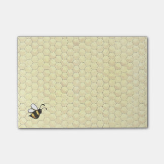 Honey Bee Post-it Notes