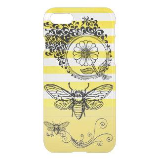 Honey Bee Stripe I Phone Case
