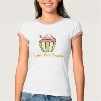 Honey Bee Sweets Ringer Tee