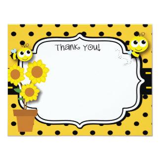 Honey Bee Thank You Card