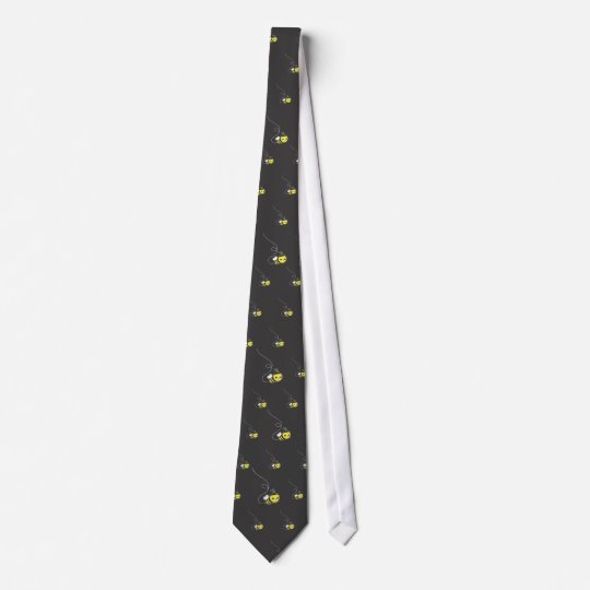 Honey Bee Tie