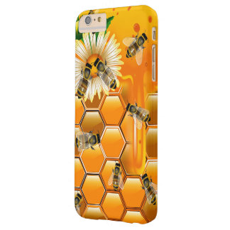 Honey Bees Barely There iPhone 6 Plus Case