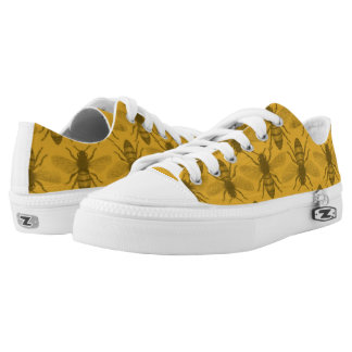Honey Bees Canvas Shoes