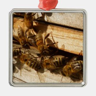 Honey Bees Christmas Ornaments