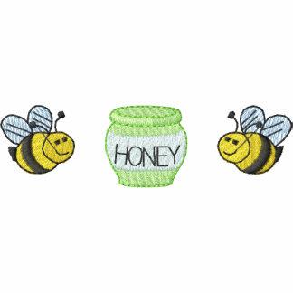 Honey Bees/ Honey Embroidered Hoodie