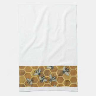 Honey Bees Kitchen Towel
