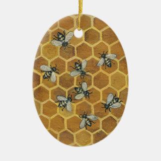 Honey Bees Ornament