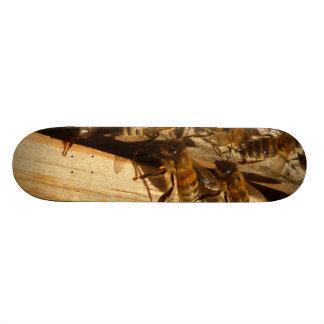 Honey Bees Custom Skateboard