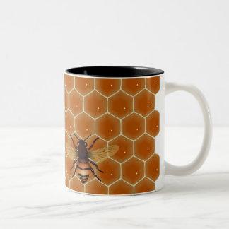Honey Bees Two-Tone Coffee Mug