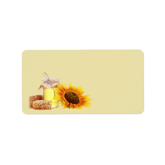 Honey Blank address labels