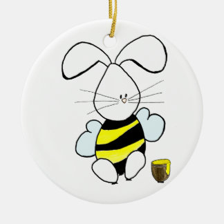Honey Bunny Ornament
