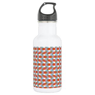 Honey Comb Beehive Pattern :  Add Text n Image 532 Ml Water Bottle