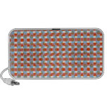 Honey Comb Beehive Pattern :  Add Text n Image Mp3 Speaker
