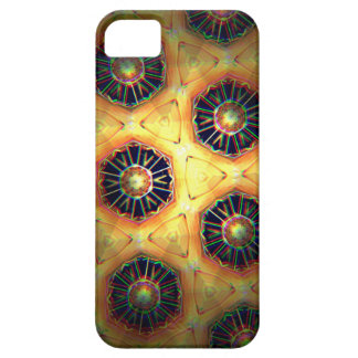 Honey comb style computer graphic iPhone 5 cover