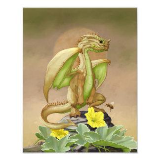 Honey Dew Dragon 11x14 Print