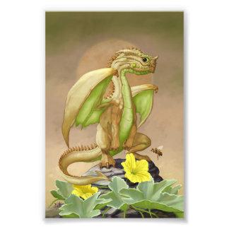 Honey Dew Dragon 4x6 Print Art Photo