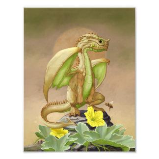 Honey Dew Dragon 8.5x11 Print