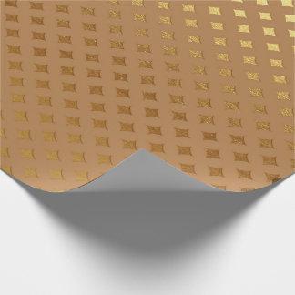 Honey Diamond Cut Brown Maroon Sepia Gold Metallic