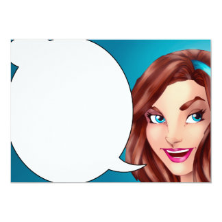 Honey Don't Forget Comics Speech Bubble Card