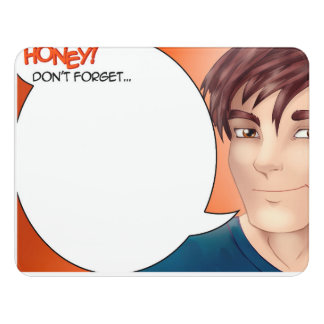 Honey Don't Forget Comics Speech Bubble Door Sign