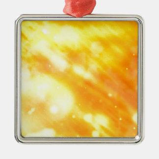 Honey Dreams Silver-Colored Square Decoration