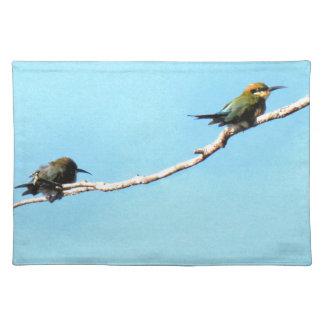 HONEY ETAER BIRD QUEENSLAND AUSTRALIA PLACEMAT