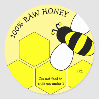 Honey for Sale Sticker